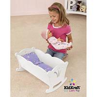 Ліжечко для ляльок KidKraft Doll Cradle 60101