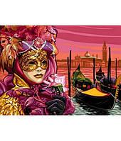 Картина по номерам Turbo Венецианская маска VK042