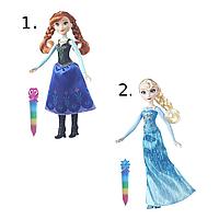 Модная кукла Холодное Сердце с сияющим нарядом, в ассортименте Disney Princess B6162  (B6162)