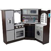 Дитяча кухня кутова Espresso KidKraft 53365