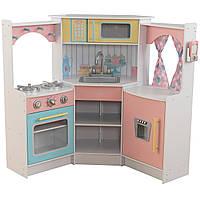 Детская кухня угловая Deluxe KidKraft 53368