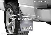 Брызговики для Peugeot Partner задние (2 шт. без креплений)