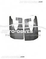 Брызговики оригинальные VolksWagen Crafter на 1-о катковый, передние- 2 шт, Begel