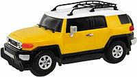 Автомодель - TOYOTA FJ CRUISER (ассорти желтый, голубой,1:26, свет, звук, инерц.) (89531)