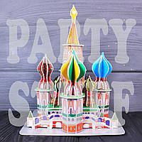 3D пазлы Храм Василия Блаженного