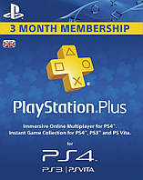 Playstation Plus 90 дней UK