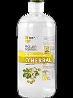 Мицеллярный раствор для жирной и комбинированной кожи с экстрактом хмеля 500мл O'Herbal