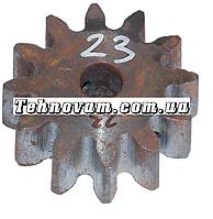 Шестерня бетономешалки 12 зубов (15*68 h24), штифт