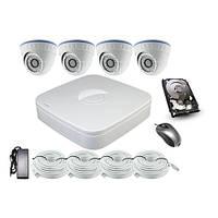 Комплекты IP видеонаблюдения LS-N2004PDF2S100