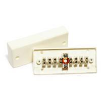 КМС 2-8Мн / коробка расключительная в трудногорючем корпусе