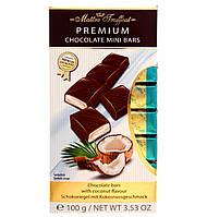 Молочный шоколад с кокосовой начинкой Maitre Truffout Premium, 8 х 12,5 г.