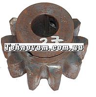 Шестерня бетономешалки 10 зубов (19*60 h44), штифт