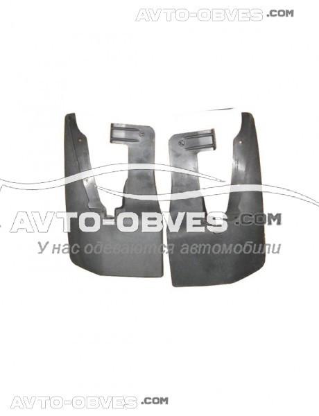 Брызговики оригинальные Mercedes Sprinter 2006-2013-2018 на 1-о катковый, передние- 2 шт Begel, резинопластик