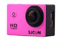 Экшн камера sjcam sj4000-pink для спорта