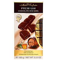 Молочный шоколад с ромовой начинкой Maitre Truffout Premium, 8 х 12,5 г.