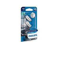Лампа светодиодная Philips T10 4500K 12V, 2шт/блистер