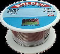 Припій 1,0 мм Solder ( котушка 40 г)