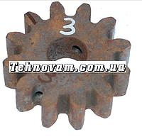 Шестерня бетономешалки 12 зубов (20*65 h22), штифт