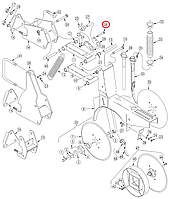Болт  HHCS 3/8-16X3 1/2 GR5  802-147C