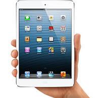Замена сенсорного стекла на  iPad mini белый