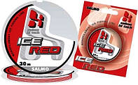 Леска зимняя Salmo Hi-Tech Ice Red 0,22mm 30m
