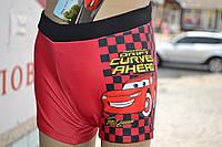 """Плавки детские """"Disney Pixar Cars"""" 2-7-8 лет red"""