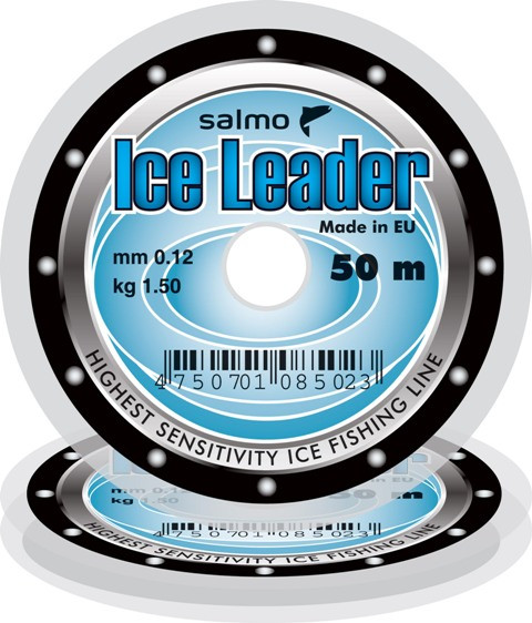 Леска зимняя Salmo Ice Leader 0,15mm 50m
