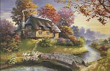 Пазлы Сказочный домик 1500, элементов Castorland С-150359