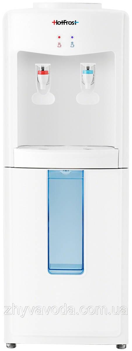 Кулер для води HotFrost V118E (електронне охолодження)