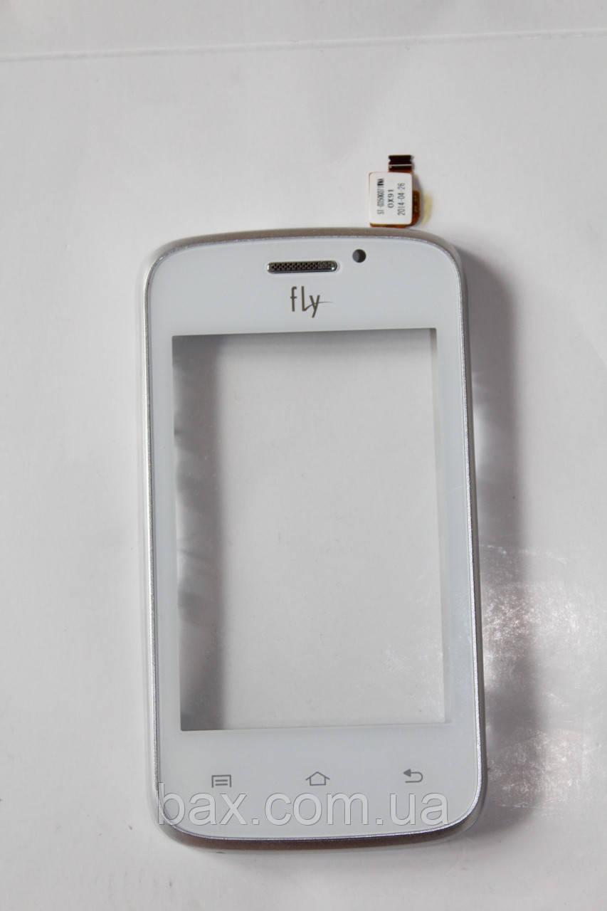 Fly IQ239 сенсорный экран оригин. белый с рамкой