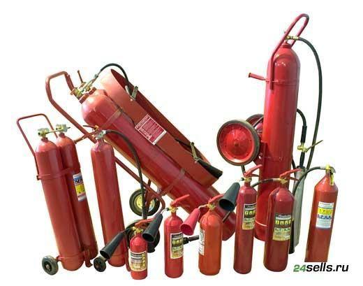 Перезарядка углекислотных огнетушителей