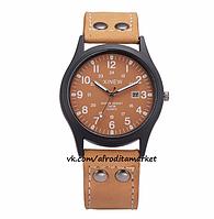 Часы мужские наручные светло-коричневые арт. 049