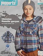 Рубашка детская на подростковая для мальчика от Pepperts мальчику