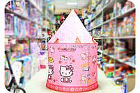 Детская игровая палатка домик «Замок Китти» SG70033HK. Ребенок сможет комфортно играть в палатке., фото 3