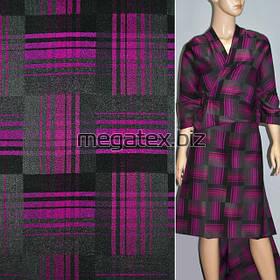 Жаккард костюмный плетение