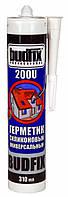 Герметик силиконовый Budfix универсальный 200 U прозрачный 310 мл (47887)