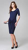 Платье TEFFI style-1173 белорусский трикотаж цвета Синий