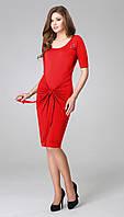Платье TEFFI style-1173/2 белорусский трикотаж цвета Красный