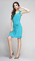 Платье красивое TEFFI style-1172/1 белорусский трикотаж цвета светлая бирюза