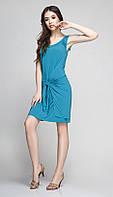 Платье красивое TEFFI style-1172/2 белорусский трикотаж цвета темная бирюза