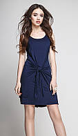Платье TEFFI style-1172/4 белорусский трикотаж цвета Синий