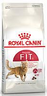 Royal Canin Fit 32 сухой корм для взрослых кошек в хорошей форме Основное питание, Для взрослых животных, Коты/кошки, Royal Canin, 10 кг, Сухие корма