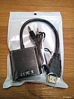 Переходник FY3116 VGA to HDMI cable     .dr