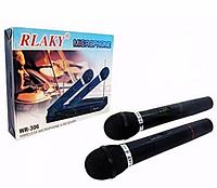 Беспроводный комплект база 2 микрофона DM 306, комплект из 2-х микрофонов