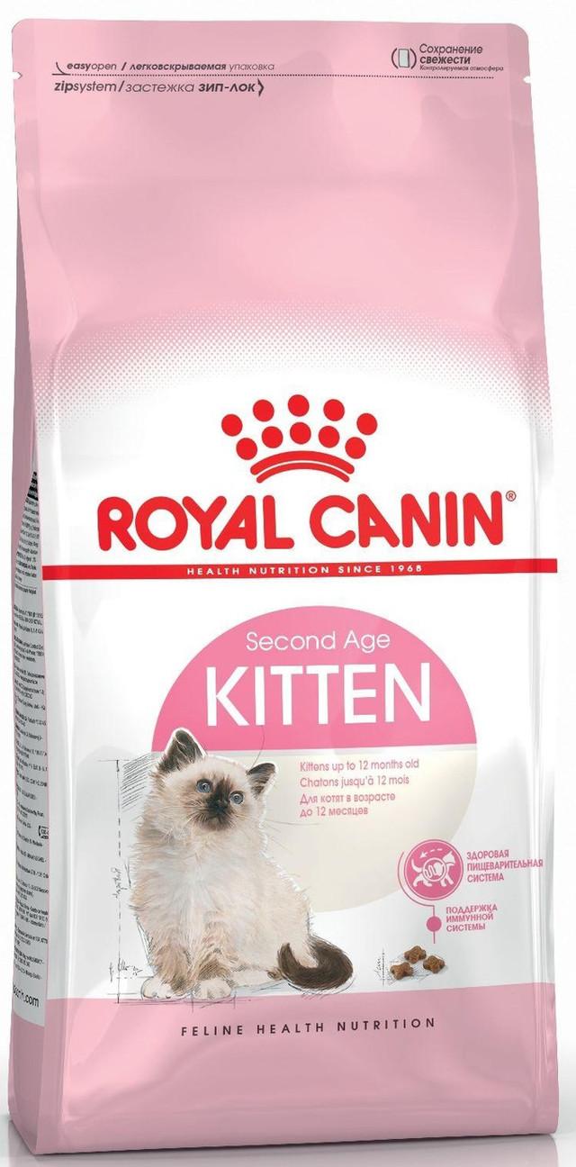 Корм для котят от 4 до 12 месяцев Royal Canin Kitten