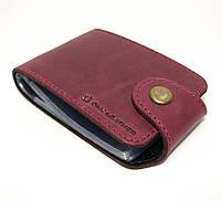 Визитница кожаная брендовая DNK Leather кошелек