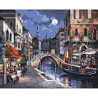 Картина по номерам Вечерний город KHO1129 Идейка