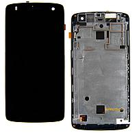 Дисплей (LCD) Fly IQ4503 Era Life 6 с сенсором (тачскрином) Black Original