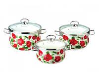 Набор посуды Epos Каркаде 6 предметов емаль (№1000 Каркаде)