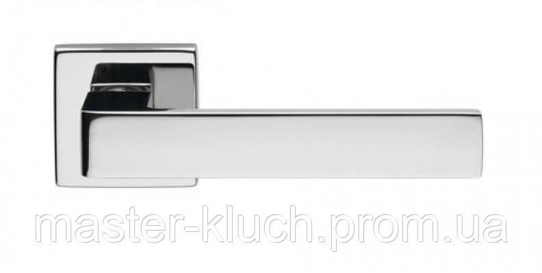 Дверные ручки dnd QUATTRO 02-Z хром